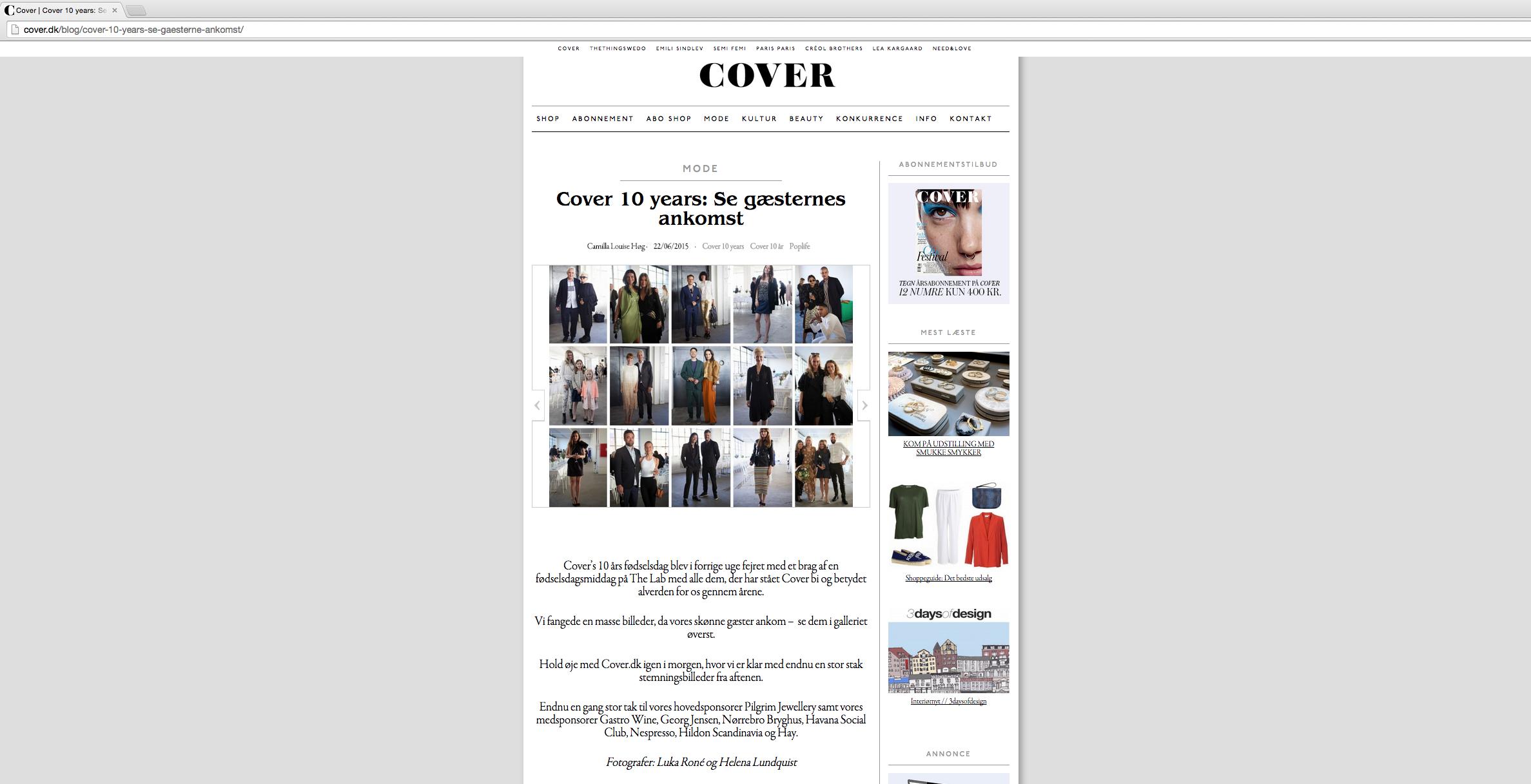 CoverMagazine10years_HelenaLundquist.2